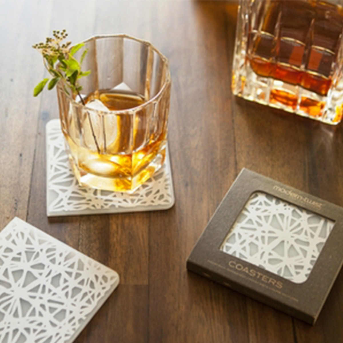 Silver Twine Coasters By Modern Twist Thrive Market