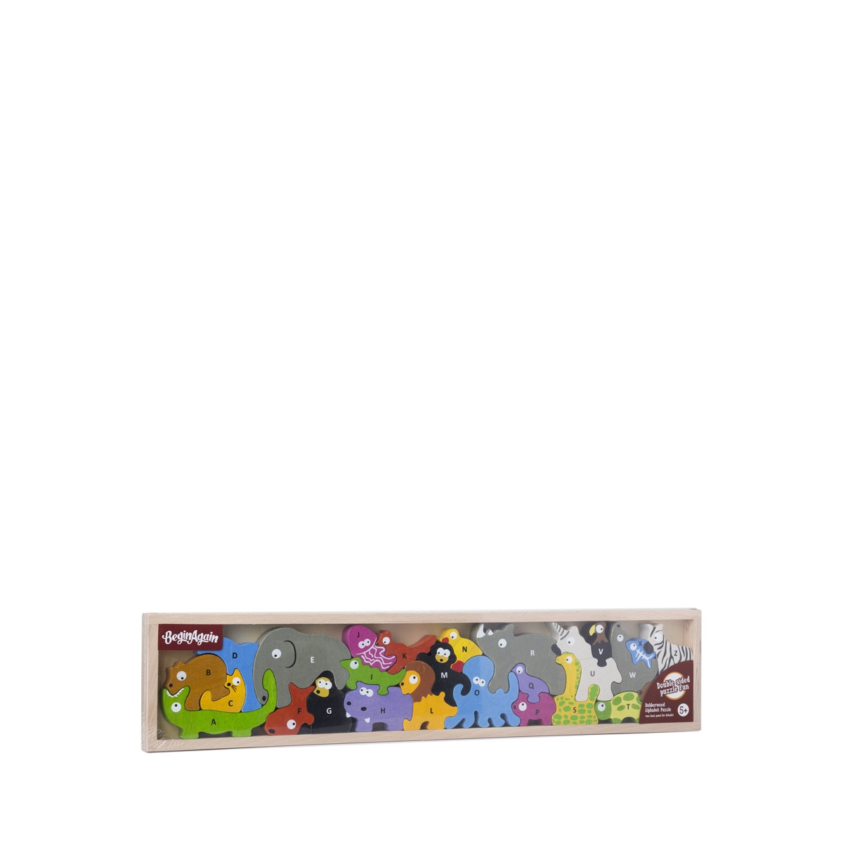 Animal Parade A Z Puzzle By Beginagain Toys Thrive Market