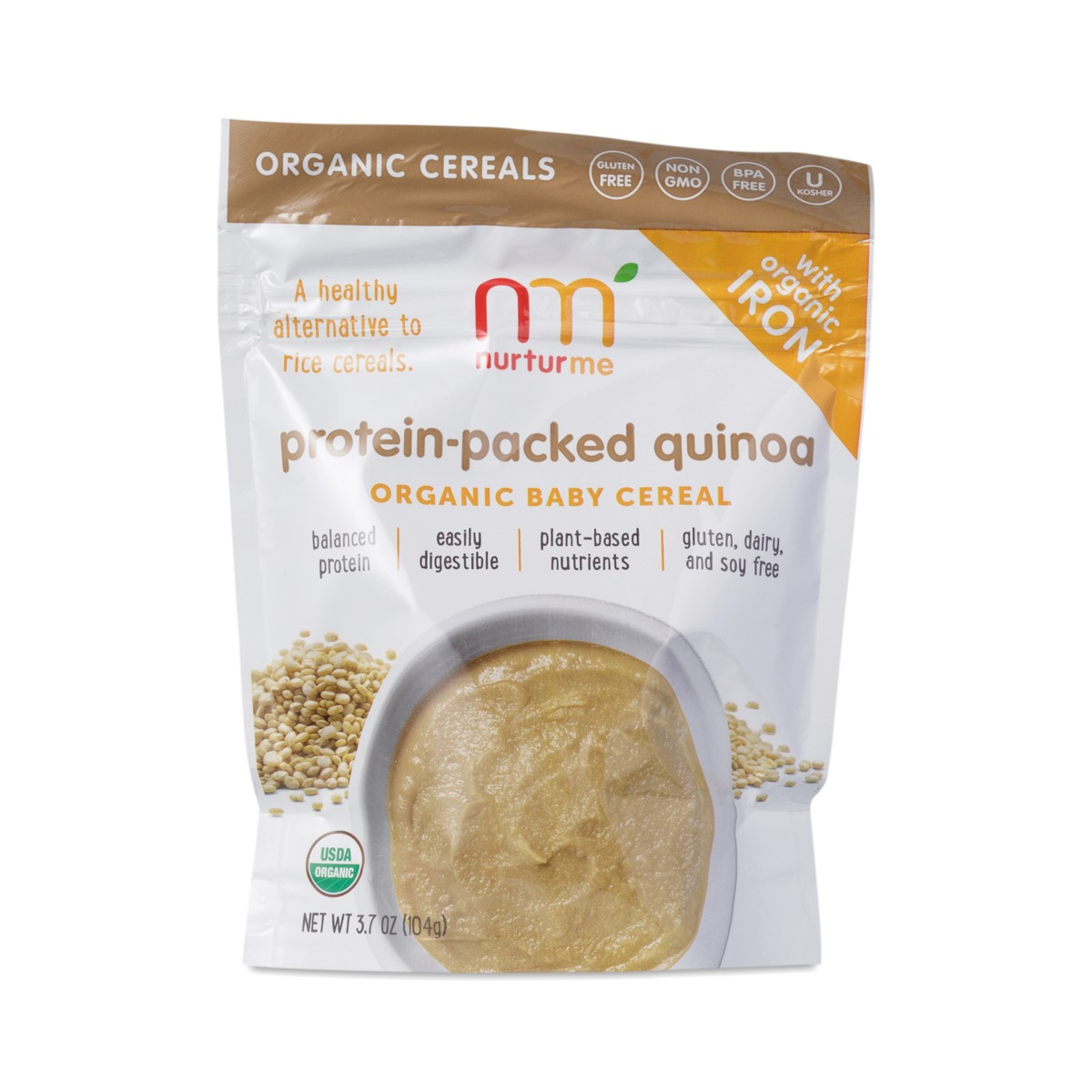 NurturMe Protein-Packed Quinoa Baby Cereal
