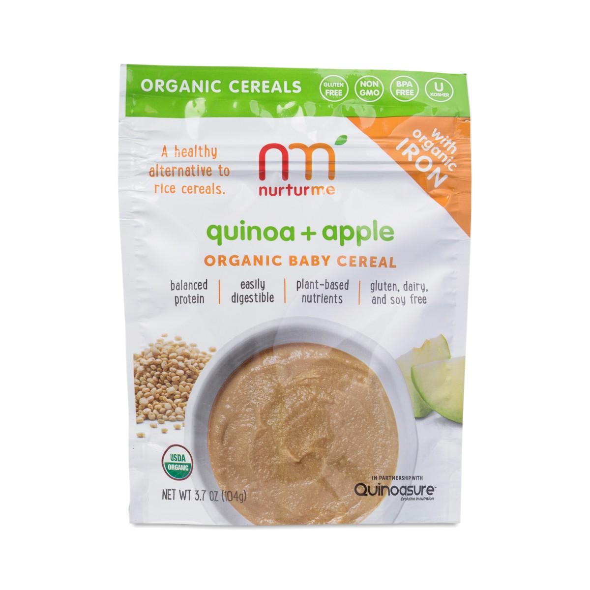 Quinoa+Apple Organic Baby Cereal