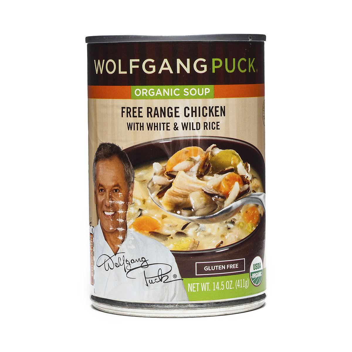 Organic Chicken W/ White & Wild Rice Soup