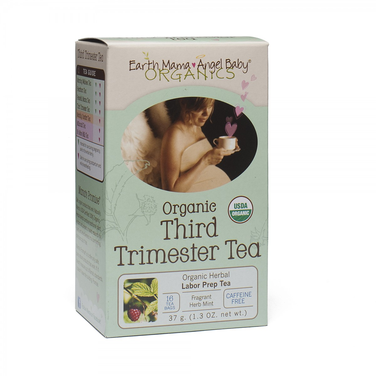 Third trimester tea organic by earth mama angel baby for Gardening 3rd trimester