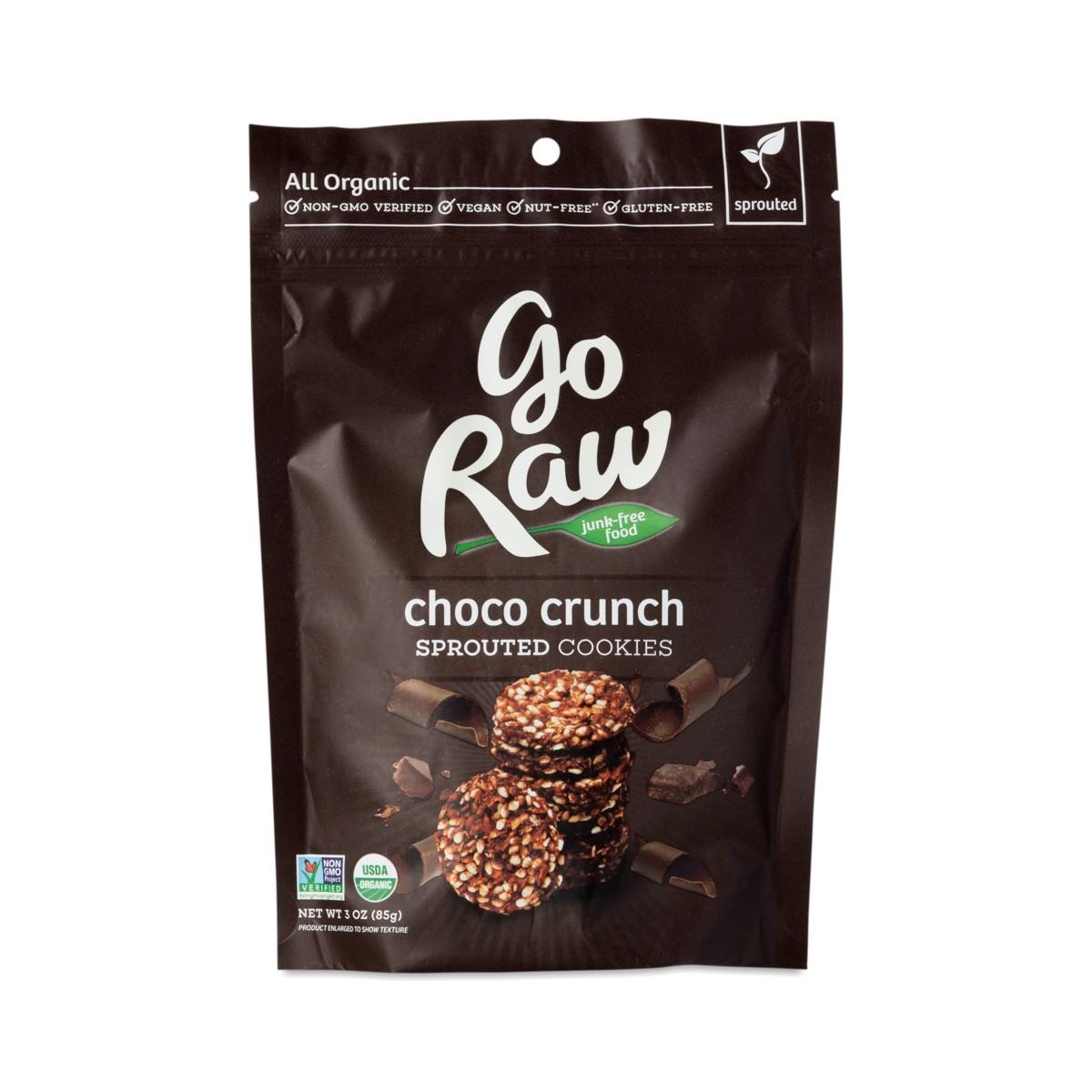 Go Raw Organic Raw Chocolate Super Cookies Thrive Market