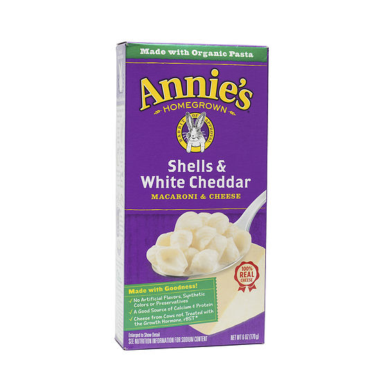 annies white cheddar mac and cheese