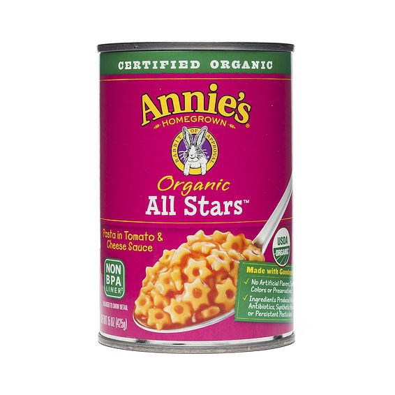 All Star Pasta in Tomato and Cheese Sauce