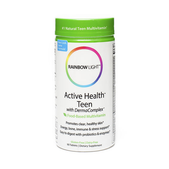 rainbow light active health teen multivitamin thrive market. Black Bedroom Furniture Sets. Home Design Ideas