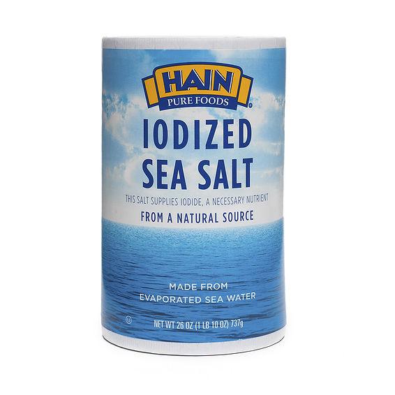 26 oz Iodized Sea Salt by Hain Pure Foods - Thrive Market