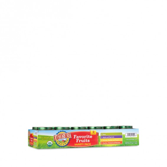 2nd Stage Baby Food Variety Pack, Favorite Fruits