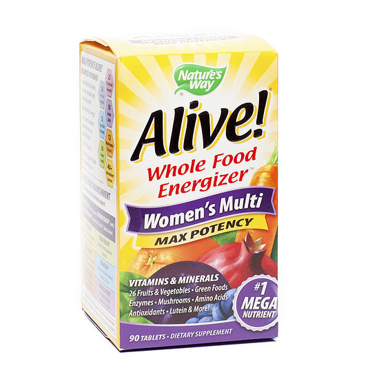 Nature S Way Alive Women S Multi Max Potency Tablets