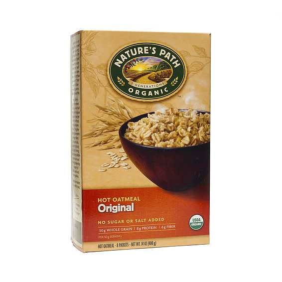 Natures path organic oatmeal
