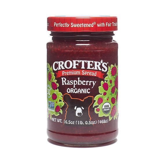 16 5 Oz Raspberry Fruit Spread Organic By Crofters