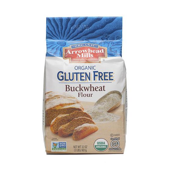 Gluten Free Organic Buckwheat Flour by Arrowhead Mills