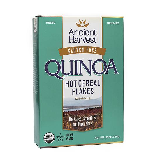 100% Whole Grain Quinoa Hot Cereal Flakes