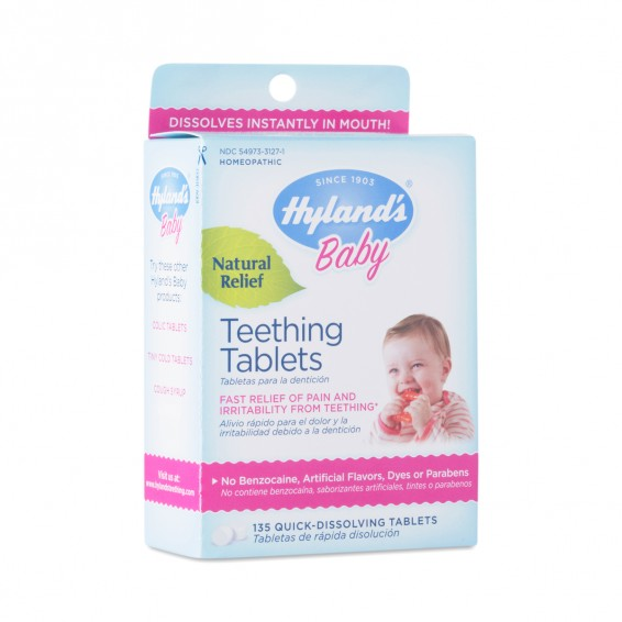 Teething Tablets by Hylands - Thrive Market