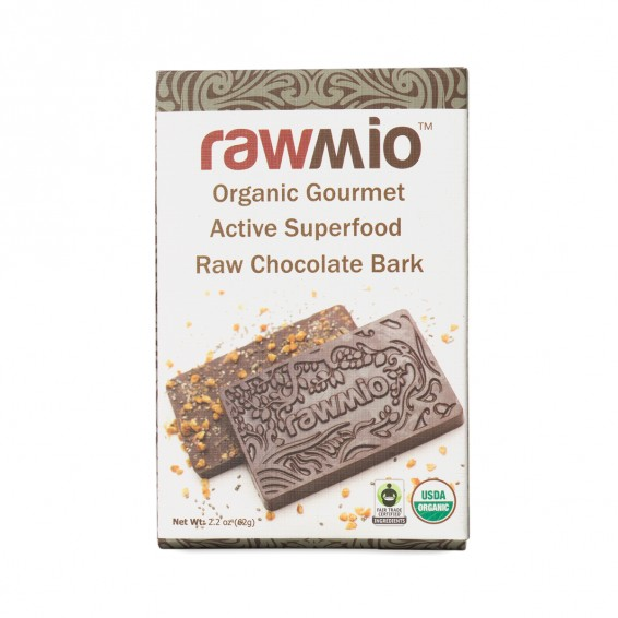 Rawmio ACTIVE SUPERFOOD RAW CHOCOLATE BARK