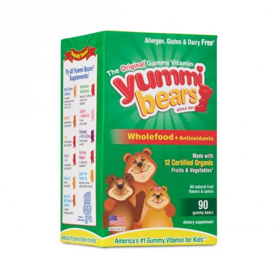 Yummi Bears Vitamins - Wholefood + Antioxidants