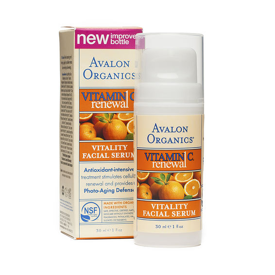 Avalon organics vitamin c serum reviews