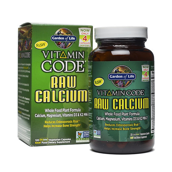 Garden of life calcium supplement