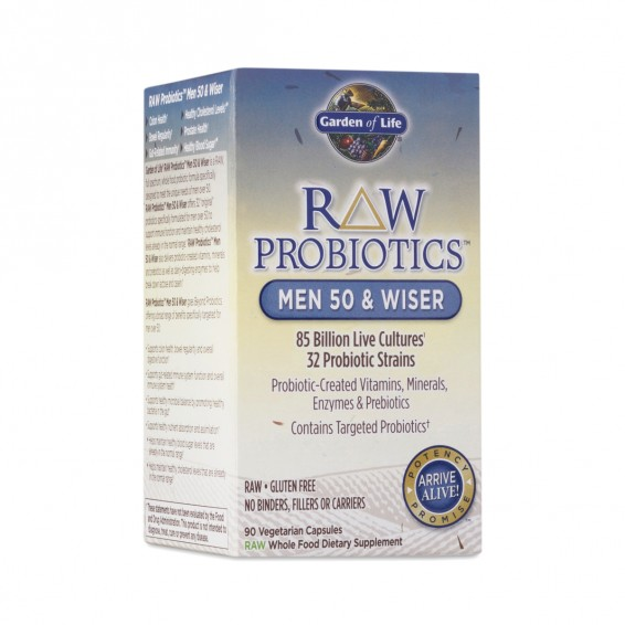 Garden of life raw probioticstm men thrive market for Garden of life raw probiotics review