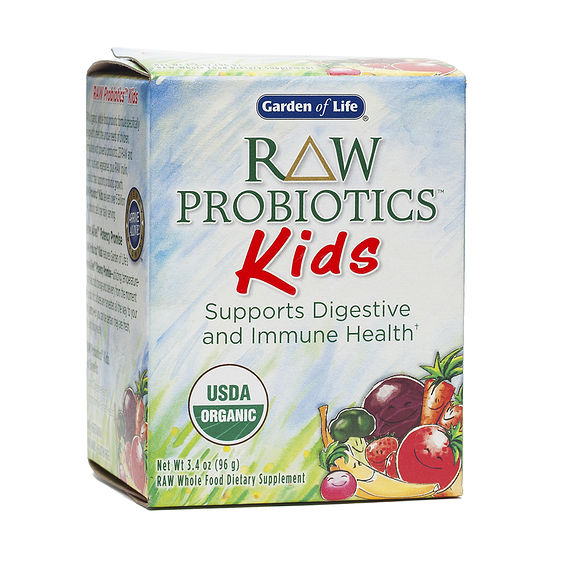 Garden of life raw probioticstm kids thrive market for Garden of life raw probiotics review