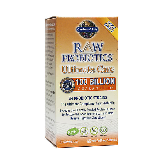 Raw Probiotics Ultimate Care Thrive Market