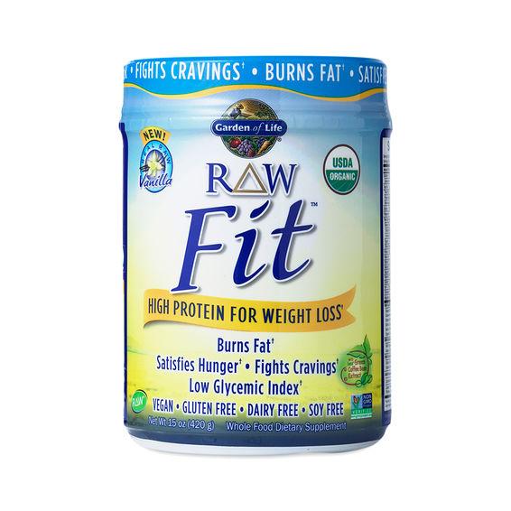 Garden of life raw fit protein powder vanilla thrive market for Garden of life raw protein vanilla