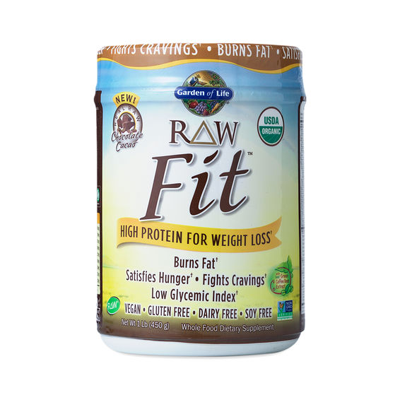 Chocolate Raw Fit Protein Powder By Garden Of Life Thrive Market