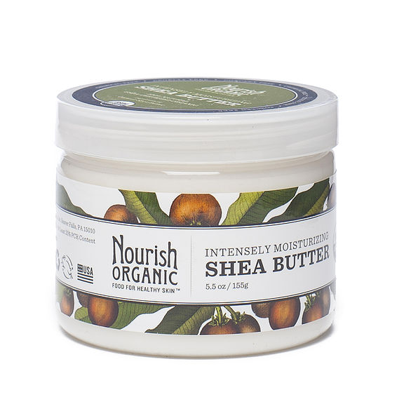 Nourish Organic Intensely Moisturizing Fair Trade Shea Butter