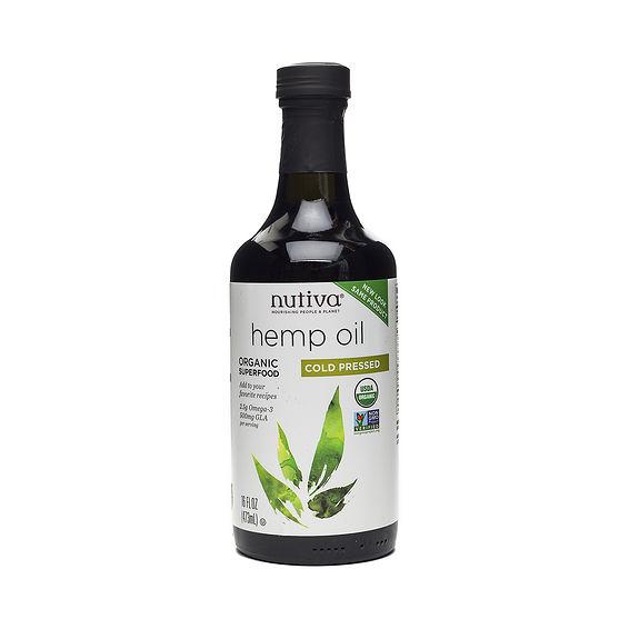 Nutiva ORGANIC COLD-PRESSED HEMP OIL