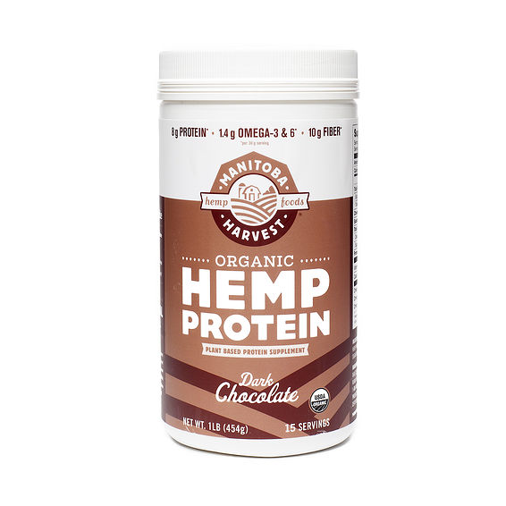Manitoba Harvest HEMP PROTEIN POWDER - DARK CHOCOLATE from Thrive Market