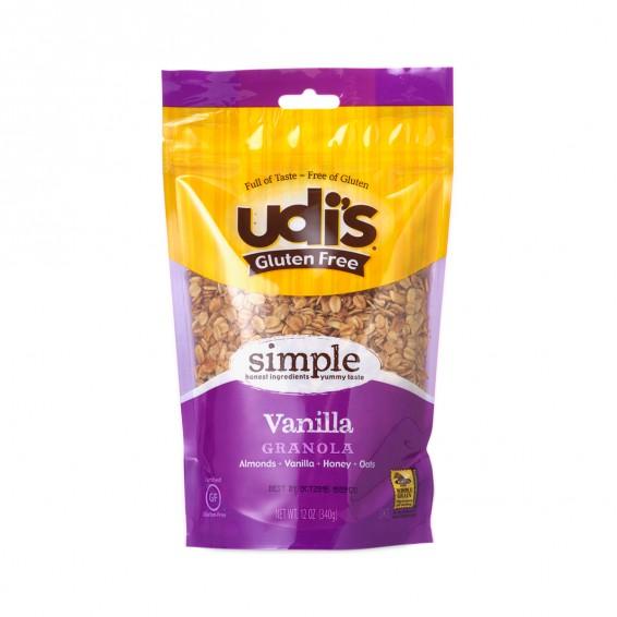 Udi's Gluten Free Foods Sweet and Crunchy Vanilla Granola ...