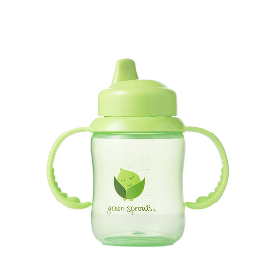 Green sprout sippy cup