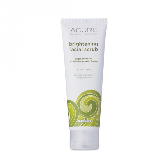 4 Oz Facial Scrub W/ Argan Stem Cell & Chlorella