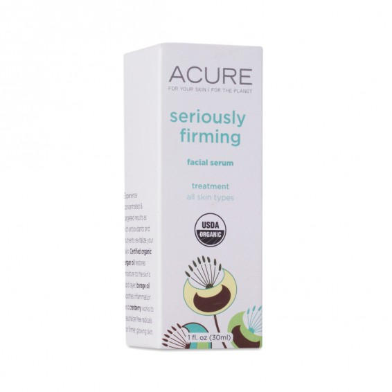 1 Oz Seriously Firming Facial Serum By Acure Organics