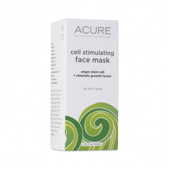 Argan Stem Cell & Chlorella Face Mask By Acure Organics