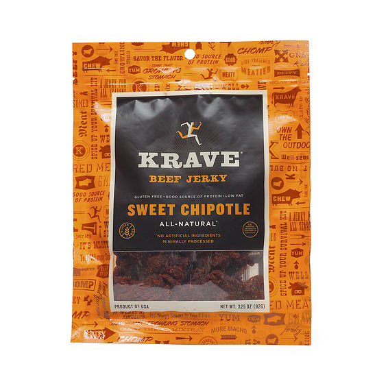 Krave Beef Jerky - Sweet Chipotle - Thrive Market