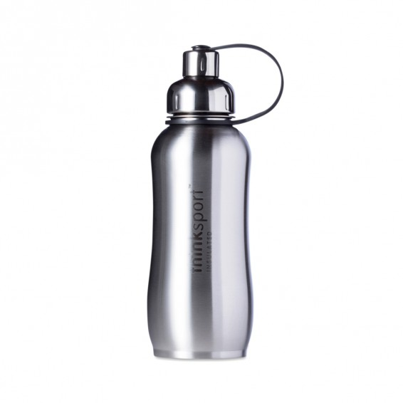 25 Oz Natural Silver Insulated Sports Bottle Thrive Market