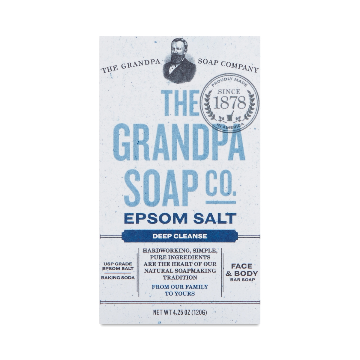 Grandpa Soap Co. Epsom Salt Bar Soap 4.25 oz bar