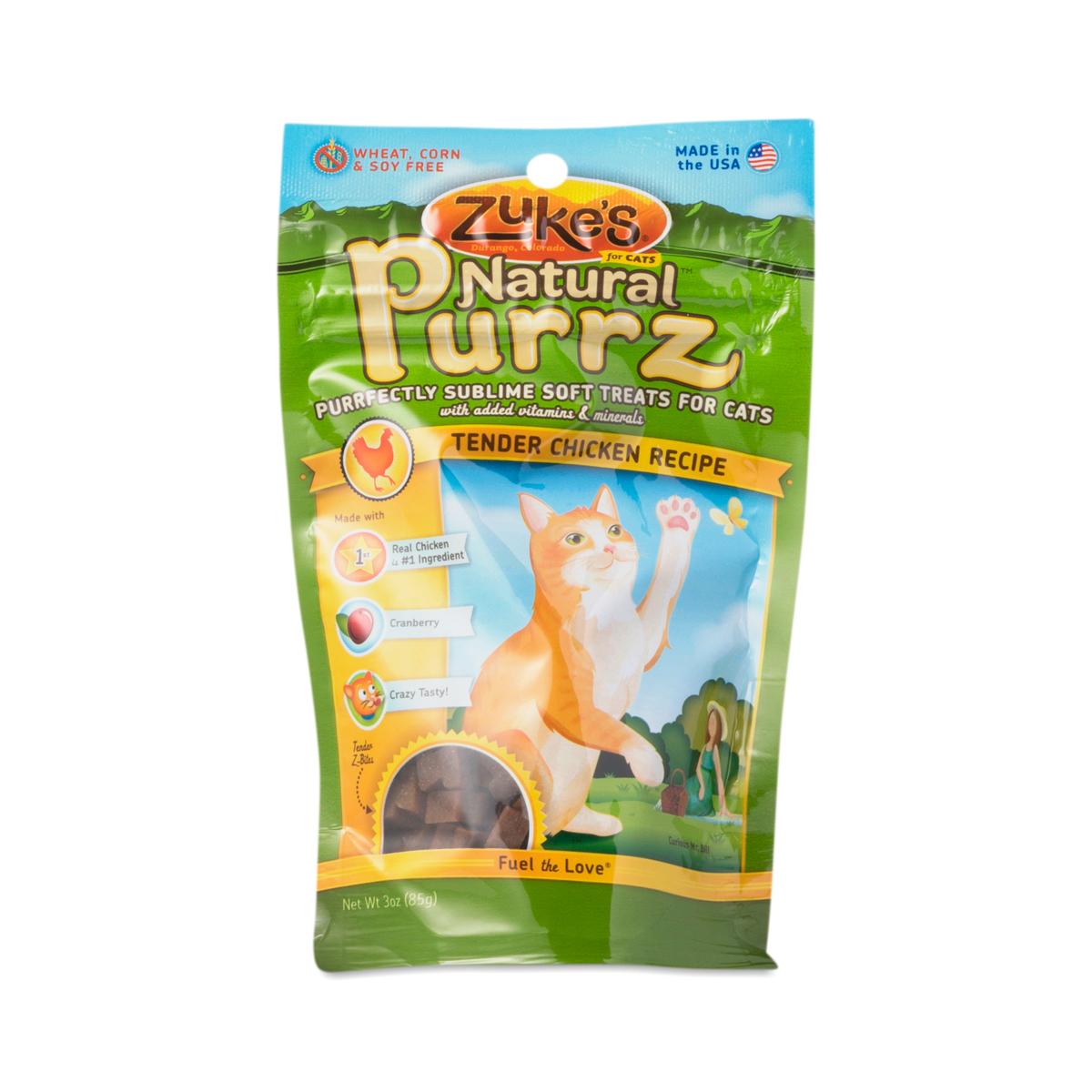 Zuke S Natural Purrz Cat Treats Chicken