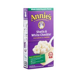 Shells and White Cheddar Macaroni and Cheese