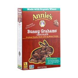 Chocolate Bunny Grahams Cookies