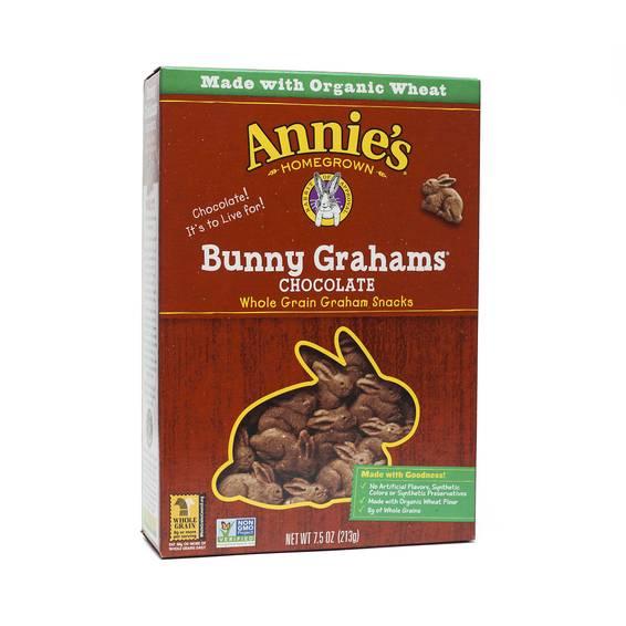 Chocolate Bunny Grahams Cookies