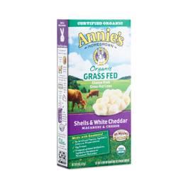 Organic Grass Fed Shells & White Cheddar