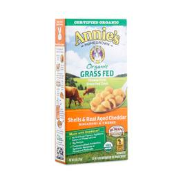 Organic Grass Fed Shells & Real Aged Cheddar Macaroni and Cheese