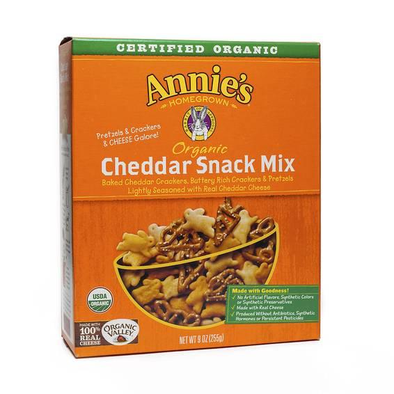 Organic Cheddar Snack Mix