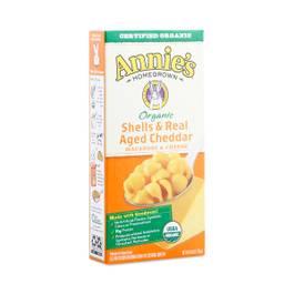 Organic Shells & Real Aged Cheddar Macaroni and Cheese