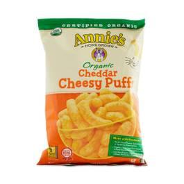 Organic Cheddar Cheesy Puffs