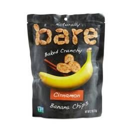 Baked Cinnamon Banana Chips