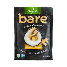 Organic Baked Sweet Ginger Coconut Chips
