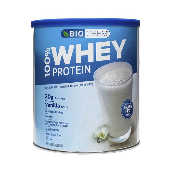 Vanilla Whey Protein Isolate Powder